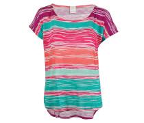 Damen Shirt pink türkis