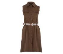 Damen Kleid braun