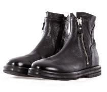 Herren Leder Boots RUGA NERO schwarz