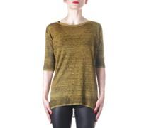 Strick T-Shirt gold