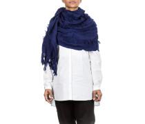 Woll Schal blau