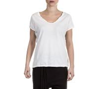Damen Baumwoll Shirt weiß