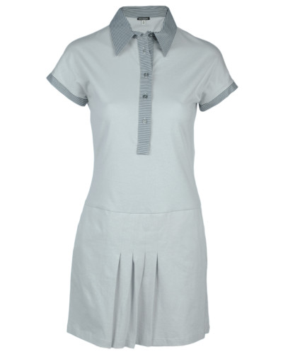 Kleid grau Gr. 38