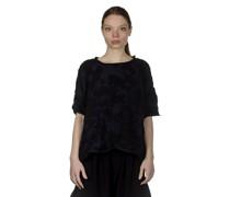 Y's  Cropped-Pullover im Camouflage-Look schwarz blau