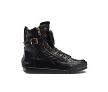 Candice Cooper Hightop Sneaker MANU - schwarz