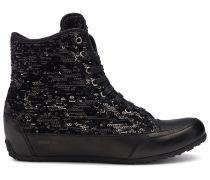 Candice Cooper Hightop Sneaker FAST BORD - schwarz
