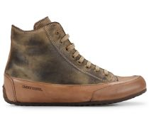 Candice Cooper Hightop Sneaker PLUS ZIP - camel/anthrazit