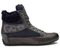 Candice Cooper Hightop Sneaker AMY - dunkelbraun/dunkelblau