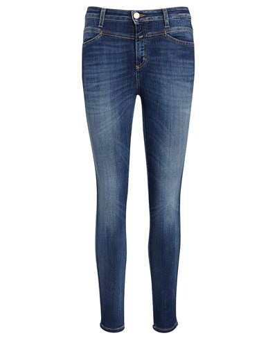 closed damen closed jeans mit passe taubenblau reduziert. Black Bedroom Furniture Sets. Home Design Ideas