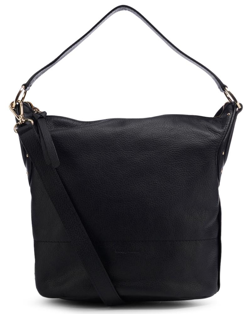 chlo damen see by chlo handtasche mit dezentem nieten besatz schwarz reduziert. Black Bedroom Furniture Sets. Home Design Ideas