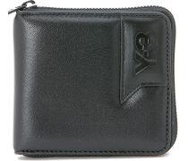 Y-3 Portemonnaie mit Seiten-Logo - schwarz