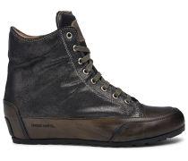Candice Cooper Hightop Sneaker FAST GUM - grau/braun