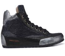Candice Cooper Hightop Sneaker LION - schwarz