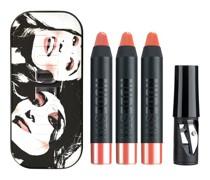 Lippen Make-up Pencil Mini Founders Kit Lip & Cheek Color und Balm Ally 2;5 g + Tay J Mama Spiegel Anspitzer
