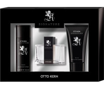 Herrendüfte Signature Man Geschenkset Body & Hair Shampoo 75 ml + Eau de Toilette Spray 30 ml + Deodorant Spray 50 ml