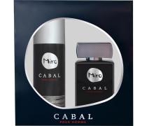 Herrendüfte Cabal Homme Geschenkset Eau de Toilette 75 ml + Deospray 150 ml