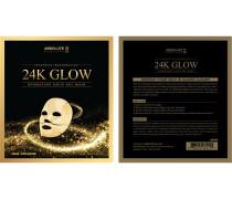 Pflege Gesichtspflege 24K Glow Gold Gel Mask