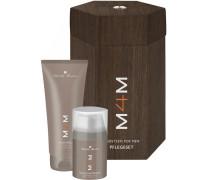 Herrenpflege M4M Pflegeset Duschgel 200 ml + Feuchtigkeitspflege 50 ml