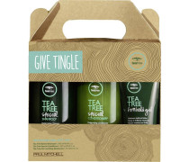 Haarpflege Tea Tree Special Give Tingle Set Shampoo 300 ml + Conditioner 300 ml + Firm Hold Gel 75 ml