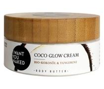 Lotionen; Creme & Öl Bio-Kokosöl Tangerine Coco Glow Cream