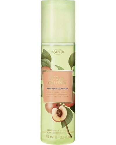 White Peach & Coriander Refreshing Body Spray