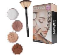 Make-up Sets Strobing Kit Loose Powder Illuminator Lustre 2 g + Loose Powder Illuminator Toast 2 g + Loose Powder Illuminator Rosé 2 g + Loose Powder Illuminator Sultry 2 g + Fan Brush