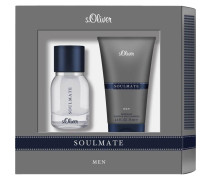 Herrendüfte Soulmate Men Geschenkset Eau de Toilette Spray 30 ml + Shower & Shave Shampoo 75 ml