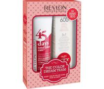 Haarpflege Revlonissimo 45 Days Revlonissimo Dream Team Set Brave Red 45 Days Brave Reds (275ml) + Revlon Nutri Color Feuerrot 600 (100ml)