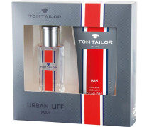 Herrendüfte Urban Life Man Geschenkset Eau de Toilette Spray 30 ml + Shower Gel 150 ml