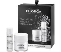 Pflege Gesichtsreinigung Clean & Radiant Set Scrub & Mask 55 ml + Anti-Ageing Micellar Solution 50 ml