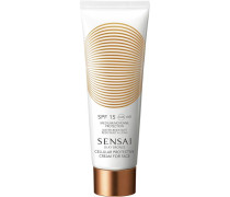 Sonnenpflege Silky Bronze Cellular Protective Cream For Face SPF 15