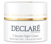 Pflege Stress Balance 5 Secrets Night Cream