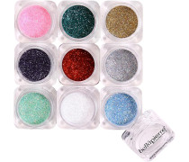 Make-up Augen 9 Stack Shimmer Powder Pandera