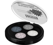 Make-up Augen Beautiful Mineral Eyeshadow Quattro Nr. 01 Smokey Grey