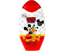 Pflege Mickey Minnie 2 in 1 Duschgel + Shampoo Mickey Mouse & Friends