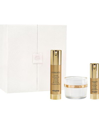 Pflege Geschenkset L´Intégral Anti-Âge 50 ml + Supremya La Nuit At Night 50 ml + Supremya Yeux La Nuit At Night 15 ml