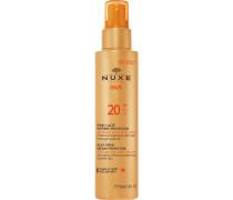 Gesichtspflege Sonnenpflege und Selbstbräuner sunMilky Spray Medium Protection - Face and Body SPF 20