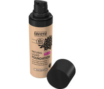 Make-up Gesicht Natural Liquid Foundation Nr. 01 Ivory Light