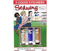 Eyeliner & Mascara Schwing Trio Set Liquid Black 1;7 ml + Sapphire Blue 14K Gold