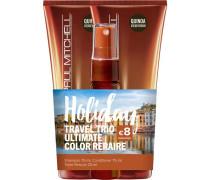 Haarpflege Ultimate Color Repair Holiday Travel Trio Shampoo 75 ml + Conditioner 75 ml + Triple Rescue 25 ml