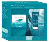Gesichtspflege Aquasource Geschenkset für Trockene Haut Creme Riche 50 ml + Night Spa 20 ml