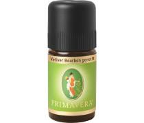 Aroma Therapie Ätherische Öle Vetiver Bourbon Gereift