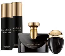 Jasmin Noir Geschenkset Eau de Parfum Spray 100 ml + Eau de Parfum Spray 25 ml + Shower Gel 200 ml + Body Lotion 200 ml