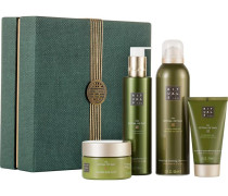 Kollektionen The Ritual Of Dao Calming Ritual Giftset Balancing Foaming Shower Gel 200 ml + Calming Shower Oil 200 ml + Mindful Body Scrub 125 ml + Be Kind To Your Skin Body Cream 70 ml