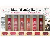 Lippen Lipstick MeetMatteHughes Vol.12 Long-Lasting Liquid Lipsticks Romantic 1;2 ml + Courteous Respectful Trustworthy Inelligent Adoring