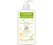 Reinigung Körperreinigung Joghurt-Extrakt & Kornblumenwasser Familien Duschgel Shampoo