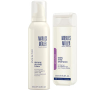 Beauty Haircare Weihnachtssets Topseller Set Daily Mild Shampoo 200 ml + Strong Styling Foam 200 ml