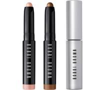 Makeup Augen Long Wear Nights Shadow & Mascara Set Smokey Eye Nr. 01 Black 3 ml + Long-Wear Cream Stick 09 Golden Bronze 0;9 g 04 Pink
