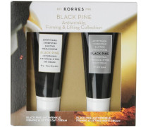 Gesichtspflege Anti-Aging Black Pine Mini Collection Tagescreme 16 ml + Nachtcreme 16 ml
