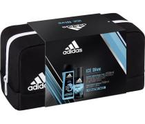 Herrendüfte Ice Dive Geschenkset Deodorant Body Spray 150 ml + 3 in 1 Shower Gel 250 ml + Kulturtasche
